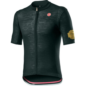 Castelli Prosecco Maillot manches courtes Homme, bottle green